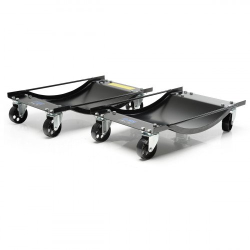 SGS Two Vehicle Positioning Wheel Dollies - 450kg Per Dolly