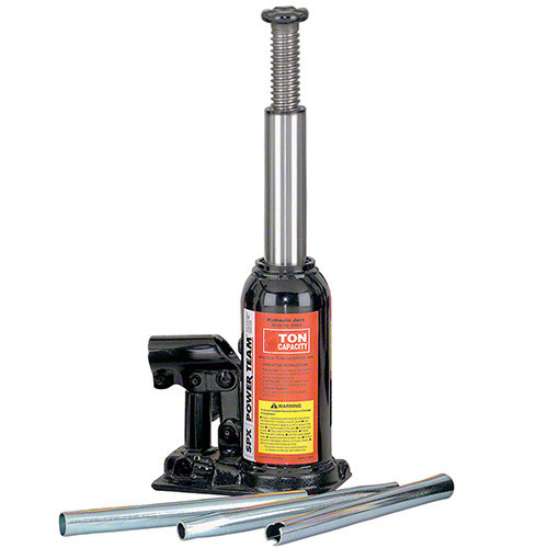 2 Ton Power Team Hydraulic Bottle Jack With 114mm Stroke