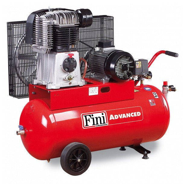 100l Fini Pro Bk119 Higher Pressure Air Compressor 20