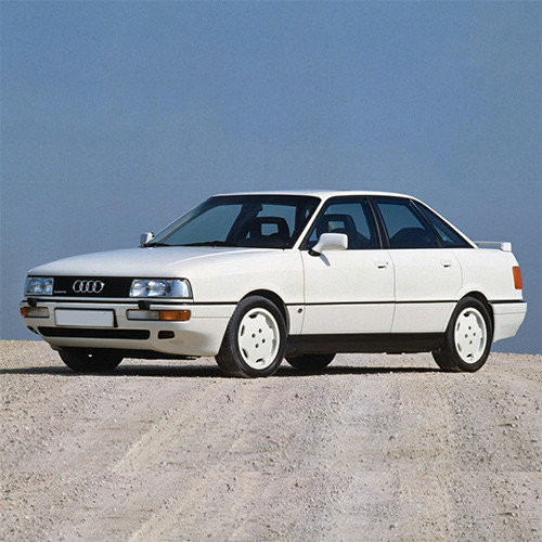 audi 80 80 quattro 1987 1991 with spoiler tailgate boot. Black Bedroom Furniture Sets. Home Design Ideas