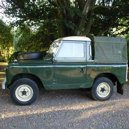 Land Rover Series I, II And III 2000 4x4 Tailgate/Boot Gas