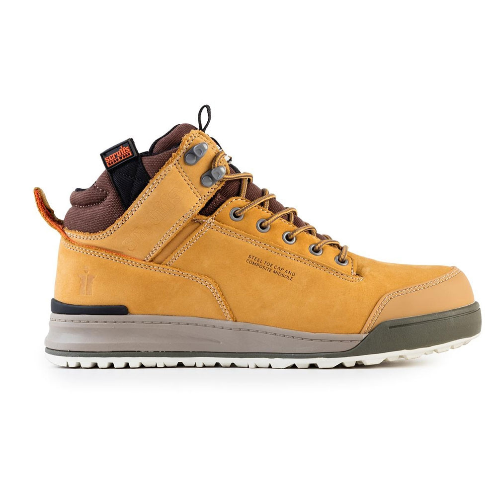new arrive really cheap classic shoes Scruffs Switchback Tan Work Boots