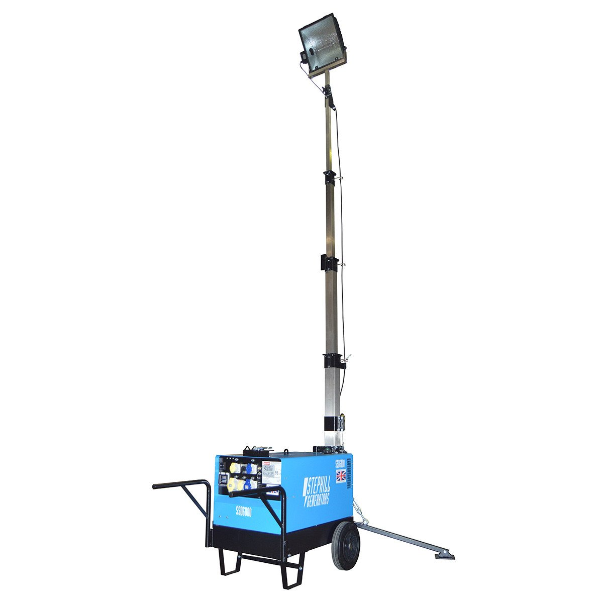 6.0 KVA Portable Lighting Tower