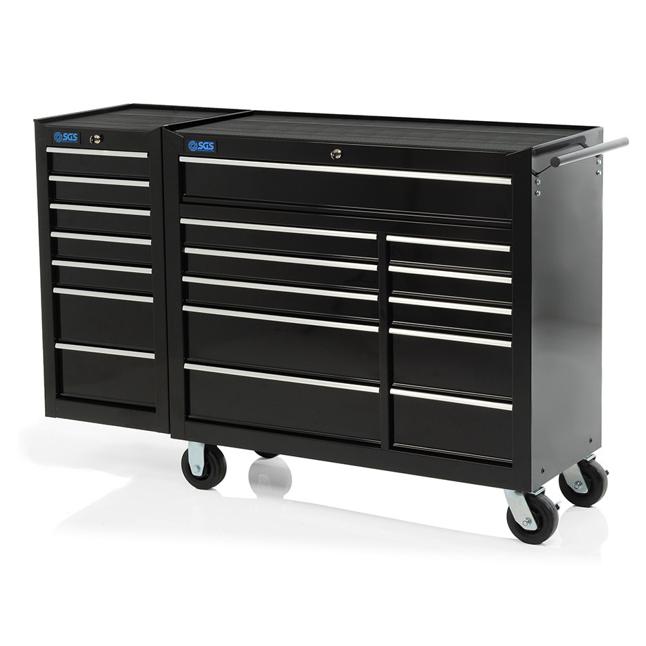tool box side cabinet 58 quot professional 18 drawer tool cabinet amp side locker 27224