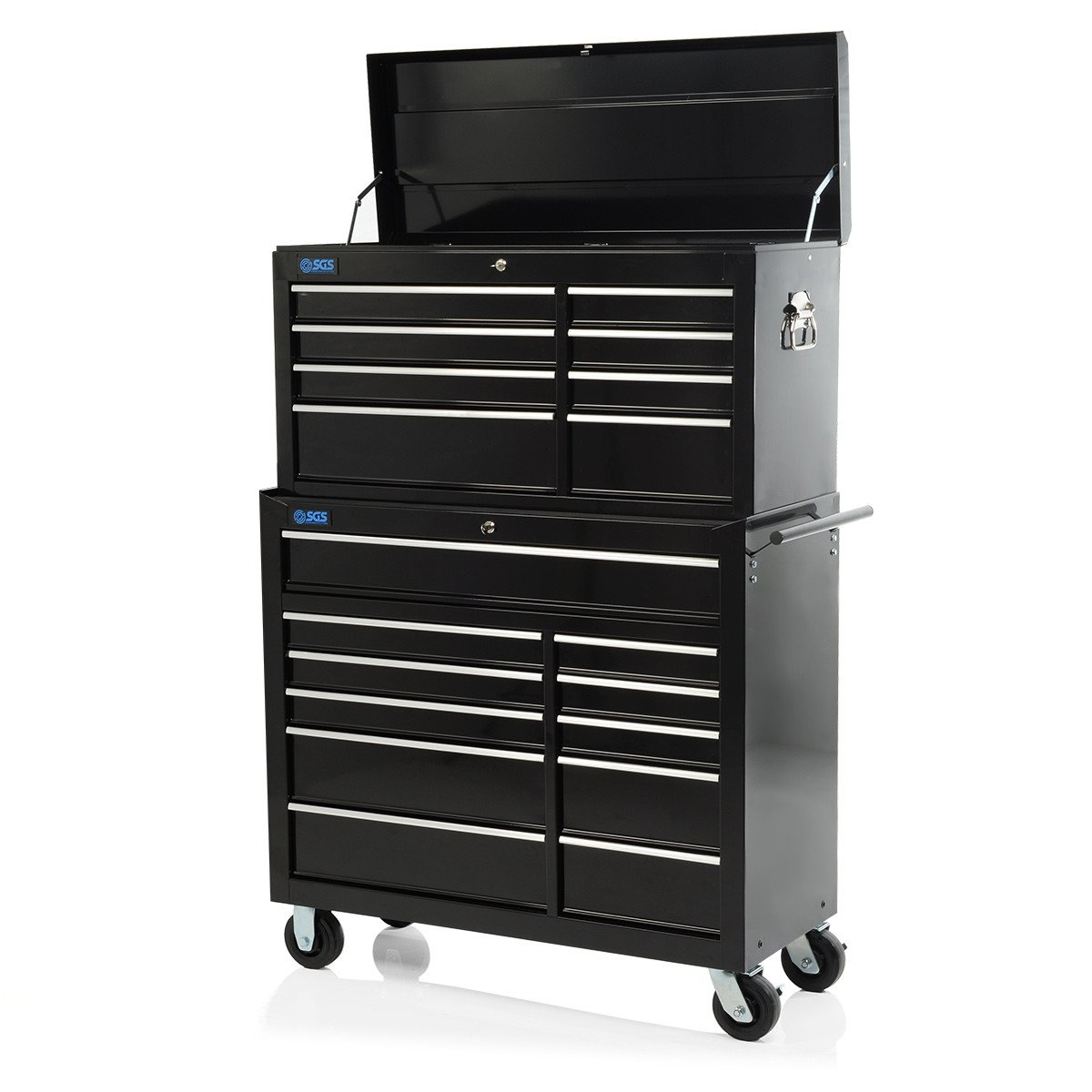 Professional 19 Drawer Tool Chest & Roller Cabinet