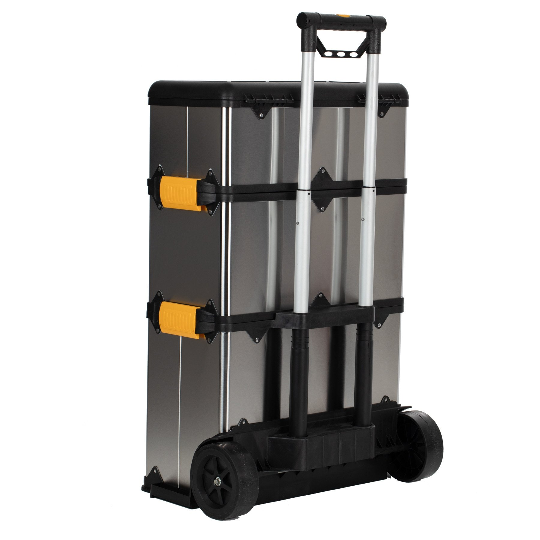 Sgs Stainless Mobile Heavy Duty Stackable 3 In 1 Tool Box