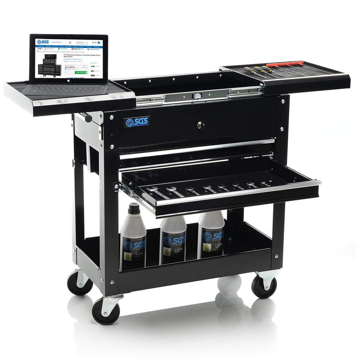 Mechanics Tool Cart Trolley & Workstation