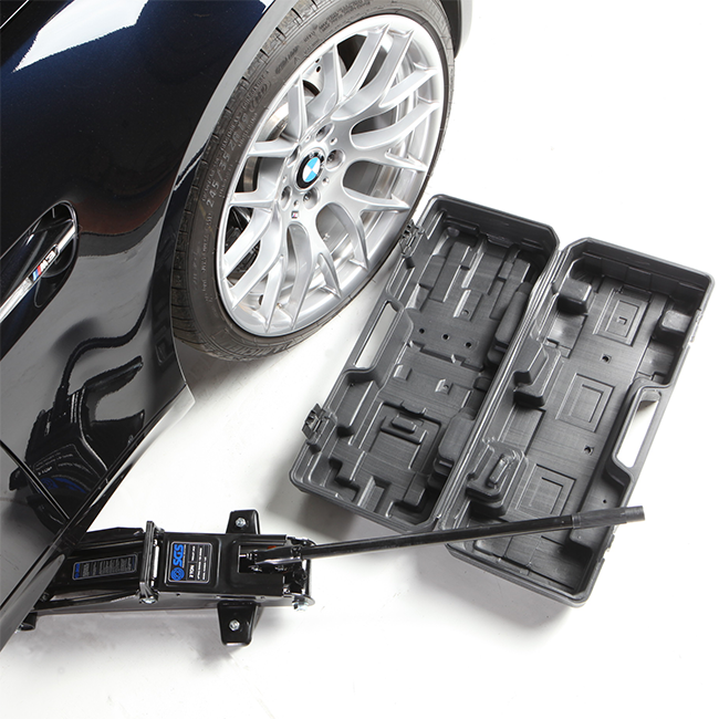 Convenient case for transporting and storing your jack