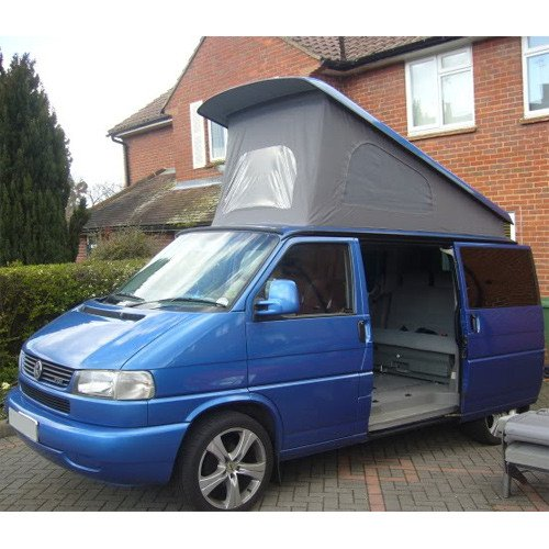 vw t4 caravelle sleeping platform gas strut. Black Bedroom Furniture Sets. Home Design Ideas