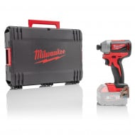 "Milwaukee M18BLID2-0 18V 180Nm 1/4"" Hex Impact Driver with Case (Body Only)"