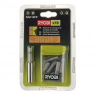 Ryobi RAK16FP 16 Piece Screwdriver Bits Set for Flat Pack Furniture