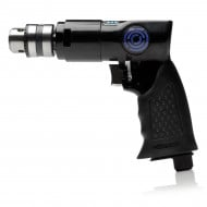 "3/8"" Reversible Air Drill With Rubber Grip"