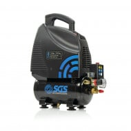 SGS 6 Litre Oil-Less Direct Drive Air Compressor - 5.7CFM, 1.5HP, 6L