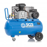 SGS 90 Litre Belt Drive Air Compressor - With FREE Oil