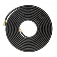 SGS 8mm Rubber Air Compressor Hose With Quick Couplers - 10m