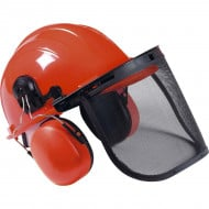 SGS Chainsaw/Strimmer Safety Helmet with Ear Defenders