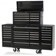 "75"" Professional 33 Drawer Tool Chest, Cabinet & Two Side Lockers"