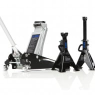 2.5 Ton Aluminium Racing Trolley Jack & Axle Stands