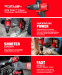 Milwaukee M18FPD2-0 18V 135Nm GEN3 Brushless Fuel Combi Drill With Case (Body Only)