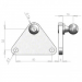 Stainless 16mm Ball Stud Bracket