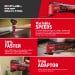 Milwaukee M18BMT-0 M18 18V Cordless Multi-Tool - Compact Design, 12 Variable Speed Settings, 12000 to 18000 OPM (Body Only)