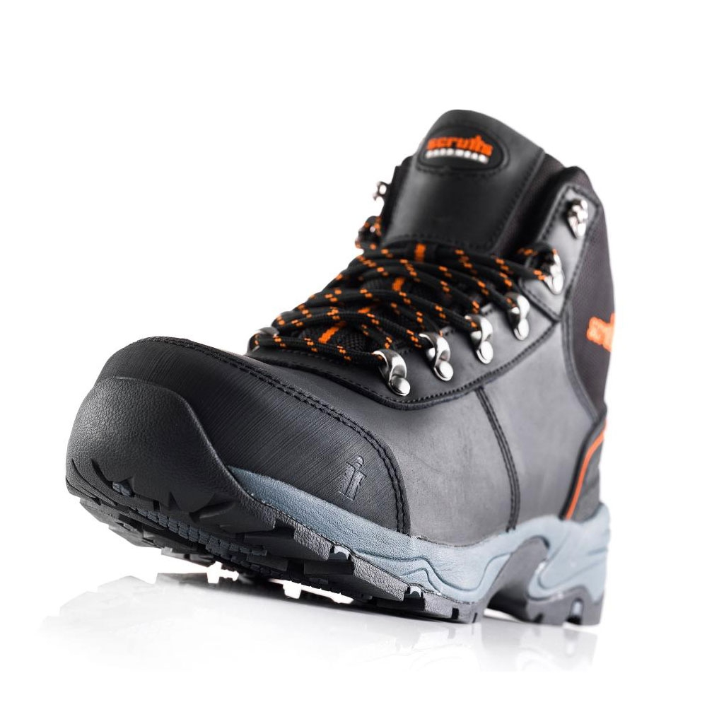 classic shoes newest available Scruffs Assault Leather Hiker Boots - Black