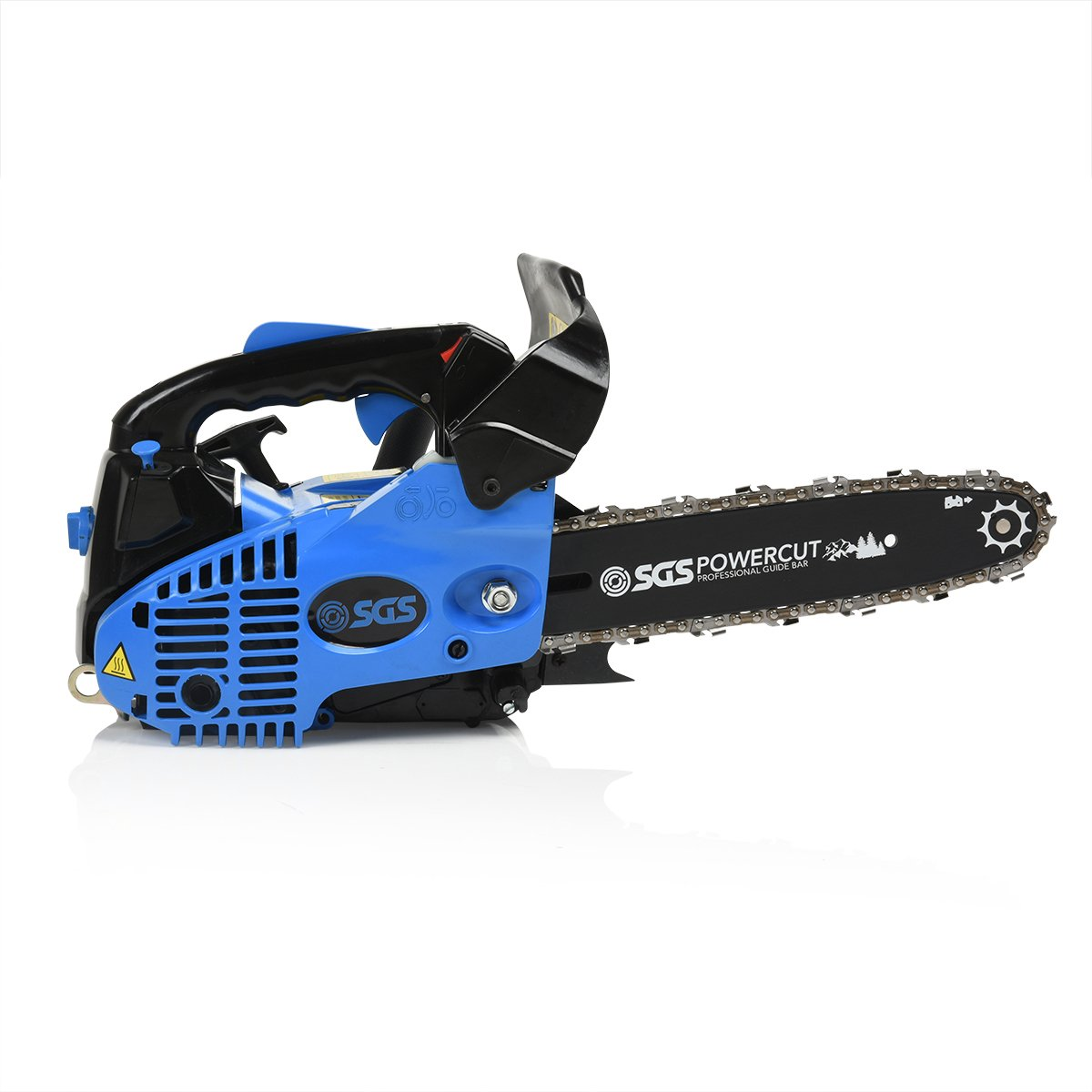 26cc 10 Quot Top Handle Petrol Chainsaw 2x Saw Chains Easy