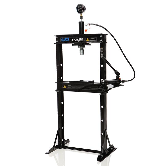 Hand Hydraulic Press ~ Tonne hydraulic press hand pump
