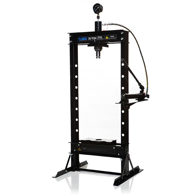 Hand Hydraulic Press ~ Tonne hydraulic press hand pump ebay