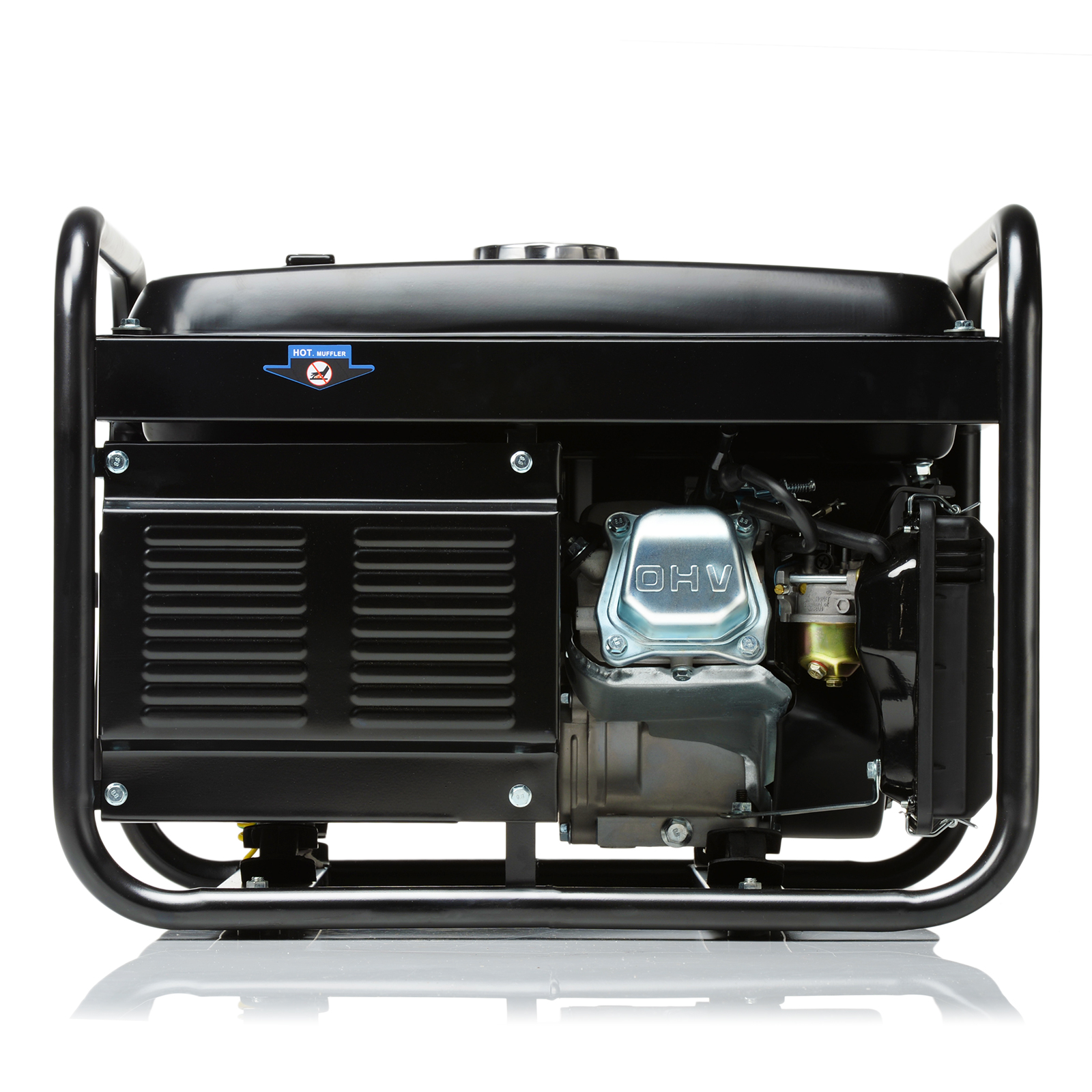 SGS 2.8 kVA Portable Petrol Generator With Oil & Flylead Ian Welder Generator Wiring Diagram on