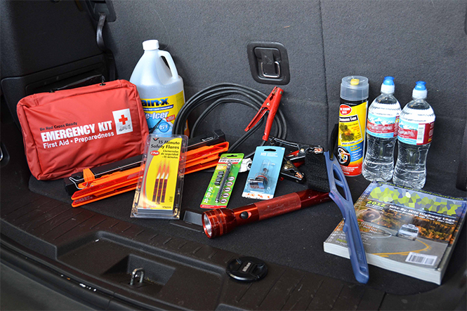Car Boot Emergency Pack Essentials