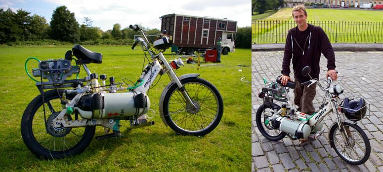 compressed air powered bike