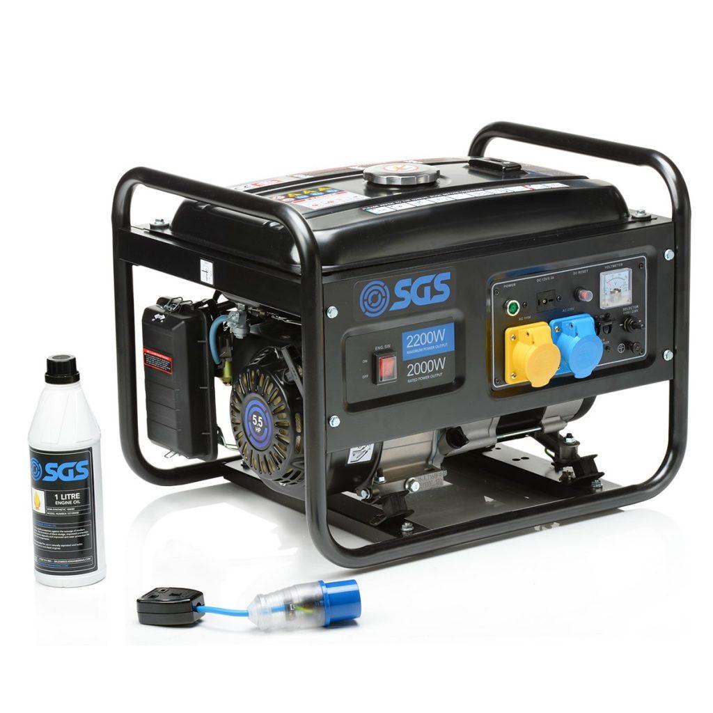 2.8kVA portable petrol generator