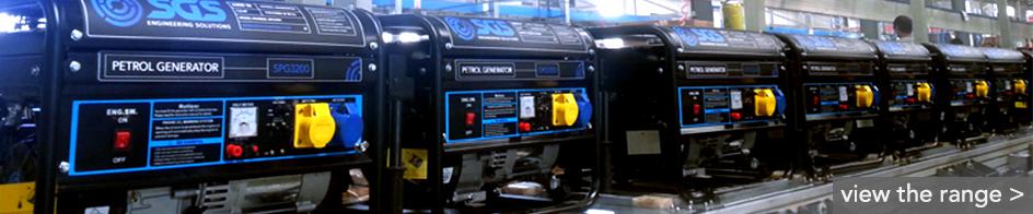 sgs petrol generators
