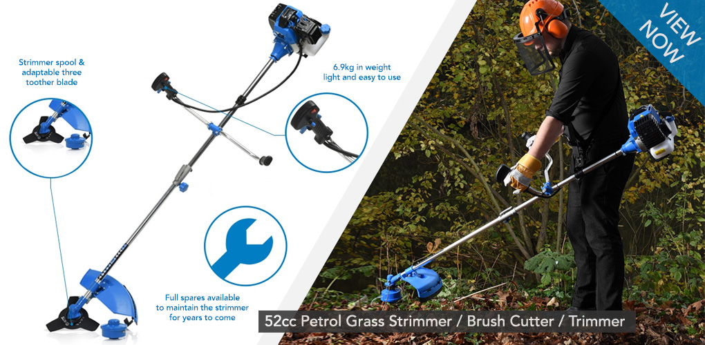Here's why: For lines of work that require wide scale trimming work, such as in fields or on the roadways, you need a model like the above which is both powerful and incredibly durable. This great strimmer is very much what it says on the tin, a petrol cutter and trimmer that won't let you down.