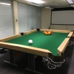 Leaf Blower Billiards: How we did it