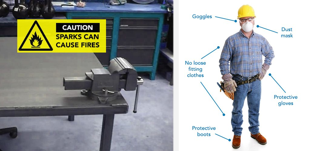 angle grinder safety