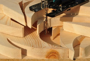 cutting curves with a jigsaw
