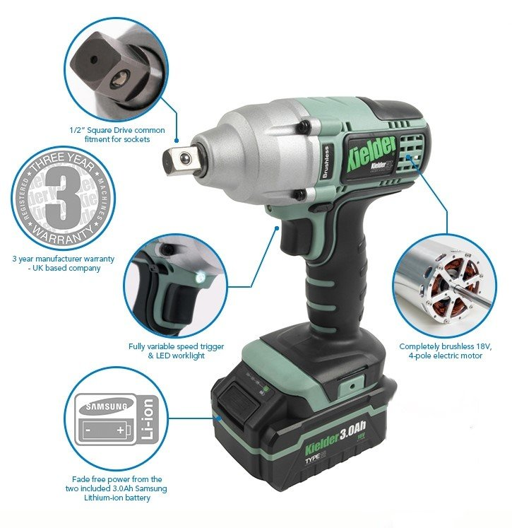 kielder impact wrench