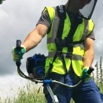 How to Use the Over the Shoulder Strimmer Harness