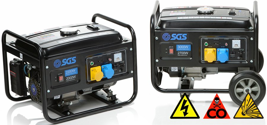 Use Your Generator Safely - Generator Safety Guide