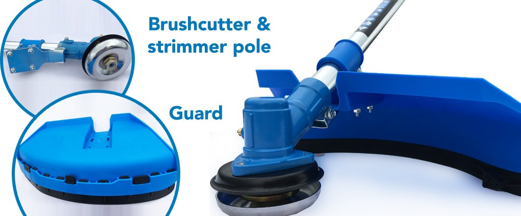 15 Brushcutter & strimmer pole