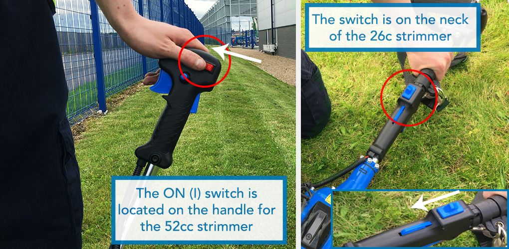 How To Start A Strimmer | Strimmer Safety | Help & Advice | SGS