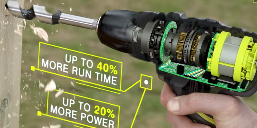 brushless power tools