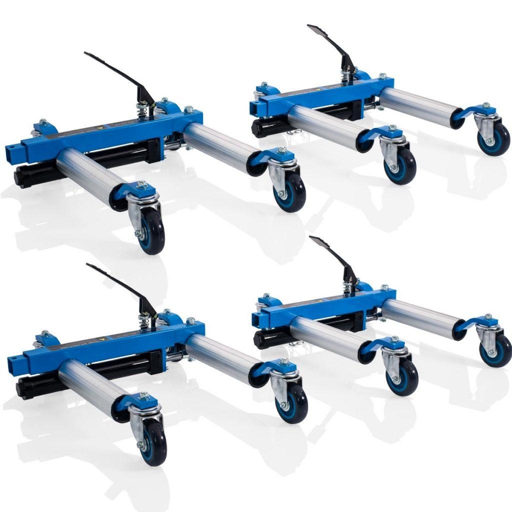 Four Heavy Duty Hydraulic Wheel Skates