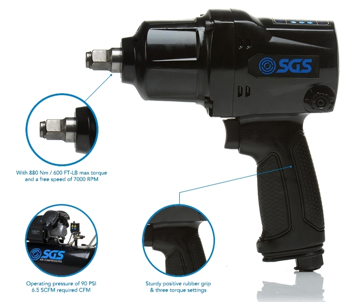 SGS air impact wrench