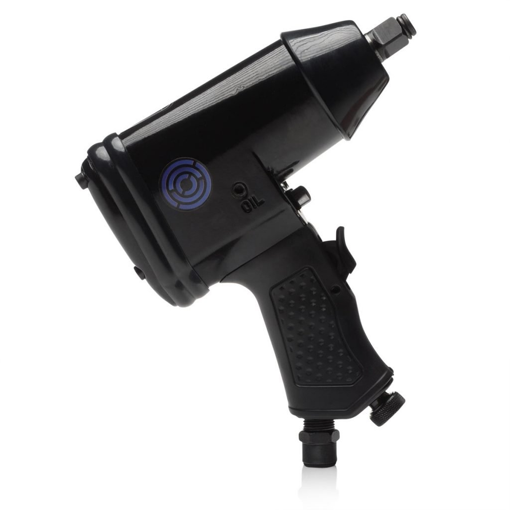"1/2"" Air Impact Wrench With Rubber Grip - 340 Nm"