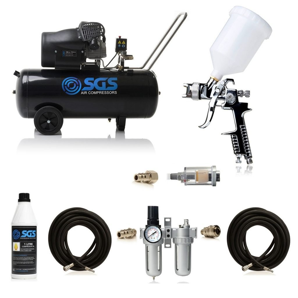 100 litre spray gun kit