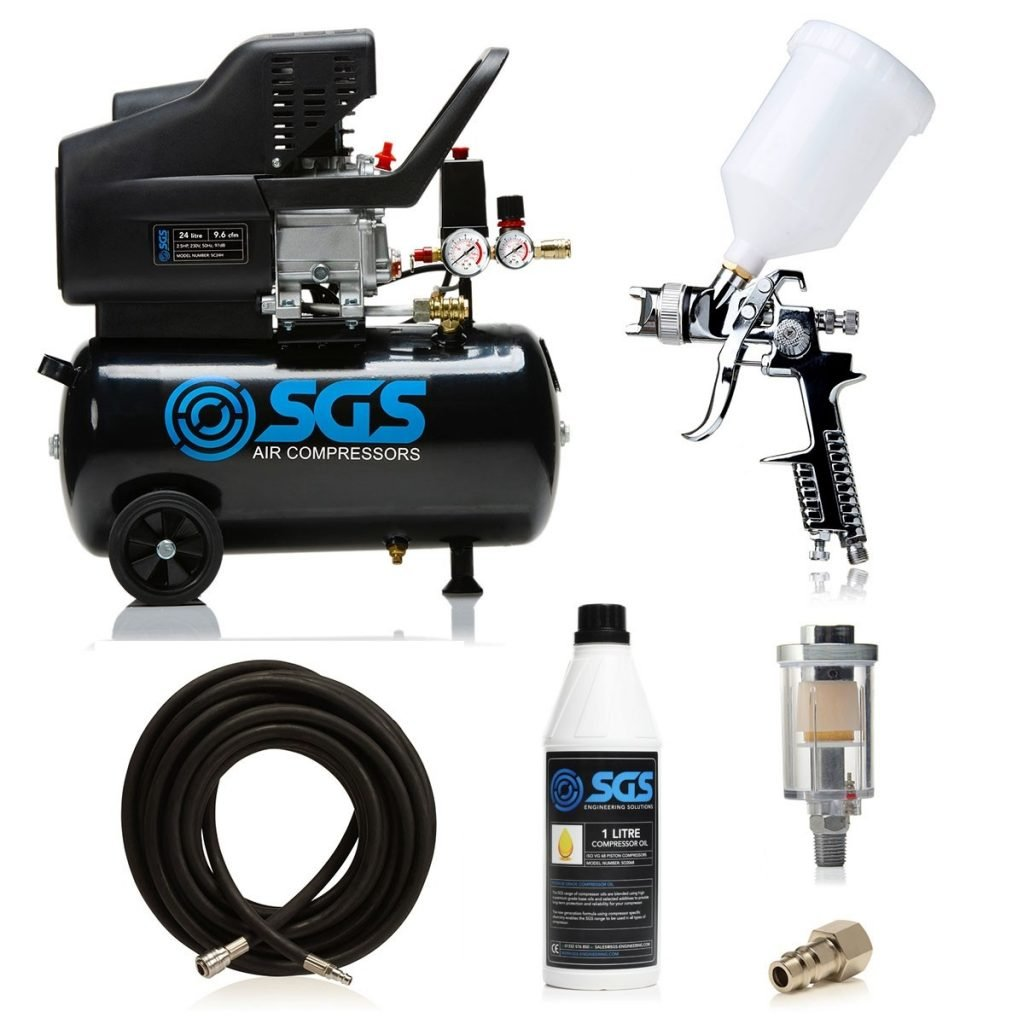 24 litre spray gun kit