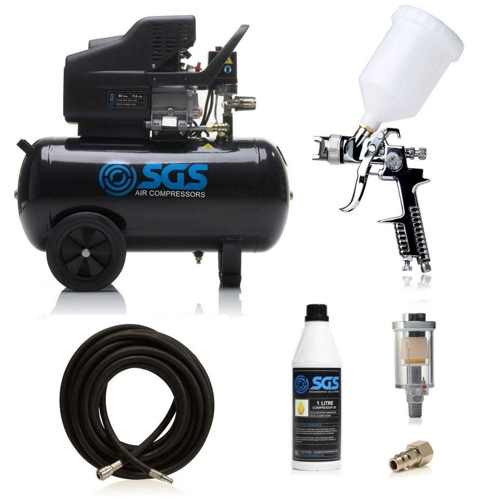 50 litre spray gun kit